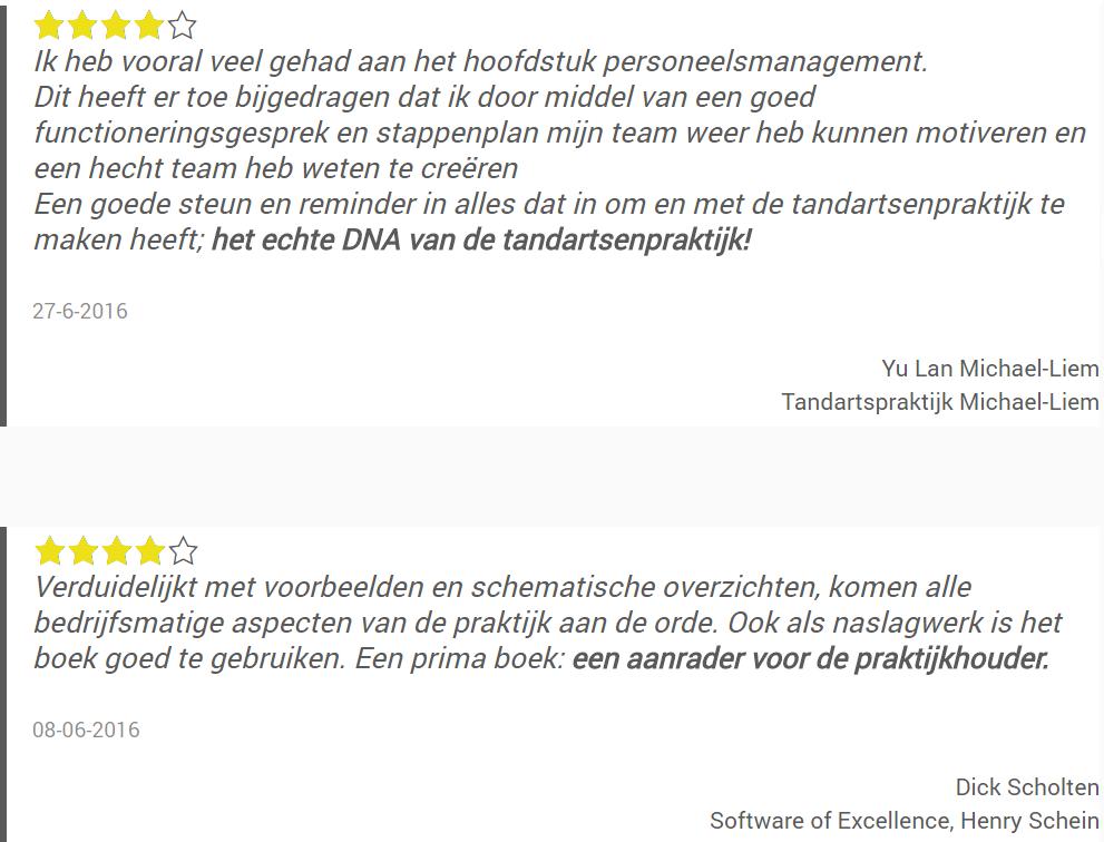 Review praktijkmanagementboek