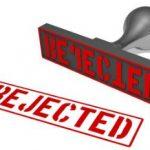 sollicitant afgewezen